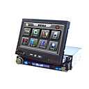 7-inch Touch Screen 1 Din In-Dash Car DVD Player GPS Function Ipod Port Detachable Panel