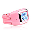 ZT Q009 Tri-Band Touch Screen Watch Phone Pink