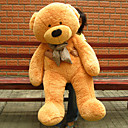 "Giant 51"" Beige Teddy Bear, Great For Christmas Gift!"