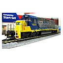 HO Scale Train Model-- EMD SD40-2 Internal Combustion Engine