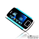 2gb TFT de 2,4 polegadas LCD mp3/mp5 players luz azul (szm089)