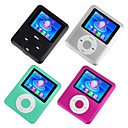 4 x 1gb 3gen colorido de 1,8 polegadas estilo ipod mp3 / mp4 player (qc007) transporte gratuito
