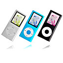 23 x 2gen 1GB/2GB colorido de 1,8 polegadas estilo ipod mp3 / mp4 player (qc014) transporte gratuito