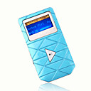 4gb mini mp3 players com alto-falante azul (szm179)