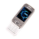 BAIZHAO E66  Dual Card Tri-Band Touch Screen Slide Cell Phone Silver&Black