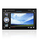 7-inch touch screen 2 din in-dash auto dvd speler tv en bluetooth functie afneembaar paneel 58m01