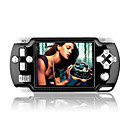 2 GB da 3,5 pollici stile di gioco psp digitale MP4 con fm / fotocamera digitale nero (mxq013)