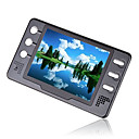 8gb de 3.5 pulgadas con reproductor digital de mp4/mp5 fm negro (mxq019)
