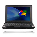 "New Black Netbook with 10.2""TFT / Intel Atom 1.6GHz CPU/1GB/160G HDD - Large Keyboard (Black)"