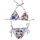 Hot Popular Two Piece Bikini Swimwear Swimsuit, Size M, L, XL (AMS041)