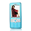 DAXIAN Q9 Dual Card Tri-Band Touch Screen Cell Phone Blue