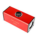 Digital Speaker With Cool Blue-Light For IPOD/MP3 Player /DVD Player Red (MD-700)
