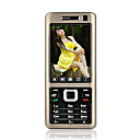 K600+ Dual Card Quad Band Dual Camera TV Function Touch Screen Cell Phone Black&Silver (SZRW262)
