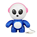 Cool Cartoon Child Digital Speaker For IPOD/MP3 Player/PC/Notebook/DVD Player Blue (SH-01)