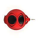 Cartoon Design Digital Speaker For IPOD/MP3 Player/PC/Notebook/DVD Player Red