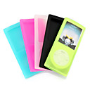 5 In 1 High-Quality Silicon Case For IPOD NANO Gen 4/5 Colors Included