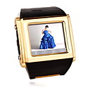 W600 Tri-Band Touch Screen Watch Phone Gold
