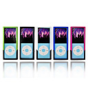 5x Ipod Case In Different Colors For Ipod Nano Gen 4 - five color per package (SA15)