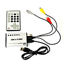 PC-TV USB2.0 High Speed Mini TV Tuner BOX BR812  (SMQ2102)