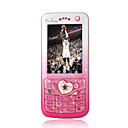 Changhong V003 Dual Card Touch Screen Cell  Phone Pink