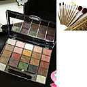 Free Professional Cosmetic Brush Set + 22 Colors Eyeshadow Palette