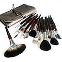 26 Pcs Natural Horsehair Professional Cosmetic Brush Set