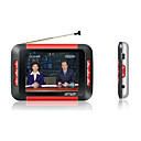 2gb de 3.5 pulgadas con reproductor de mp3/mp5 tv anolog rojo (szm507)