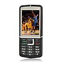 E81 Dual Card Quad Band  Flat Touch Screen Cell Phone Black(SZRW434)