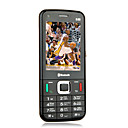 S85 Dual Card Quad Band TV Function Ultra-thin Flat Screen Cell Phone Black&Brown(SZRW523)