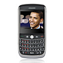S9630 Quad Band Dual Card JAVA Ball Navigation QWERTY Keyboard Cell Phone Black (2GB TF Card)