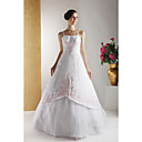 2009 Style Sexy Princess Ball Gown Sweetheart Floor-length Satin Wedding Dress/Gown for Bride (HSX12