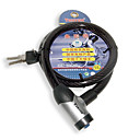 80cm Overlapping Steel Jackets Threaded Cable Lock