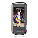 N98 Dual Card Dual Standby Quad Band Cell Phone Black (2GB TF Card)(SZ05450184)