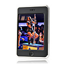 4GB 4.3 Inch Touch Screen MP5/MP3 Players With FM Function Calculator Black