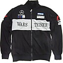 McLaren Mercedes F1 Windbreaker Jacket Black (LGT0915-3)