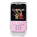 E71 Style Quad Band Dual Card Bluetooth Cell Phone Pink (2GB TF Card)