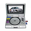 7-inch Portable DVD Player with TV Function, USB Port and 3-in-1 Card Reader (SMQC167)