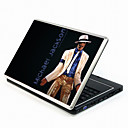 Michael Jackson Series Laptop Notebook Cover Protective Skin Sticker with Wrist Skins (SMQ3416)