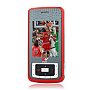 MTV3.3 JAVA Dual Mode Bluetooth Slide 3G WCDMA Cell Phone Red (2GB TF Card)