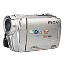 RICH DVH-592II 5.0MP CMOS 16.0MP Enhanced Digital Camcorder with 3.0inch Touch LCD Screen  2X Optical Zoom 8X Digital Zoom