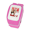 W200 Tri Band Bluetooth Touch Screen Watch Cell Phone Pink (2GB TF Card)