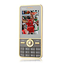 v9 card dual standby dual band dual cellulare ultra sottile marrone (2GB TF card) (sz05450277)