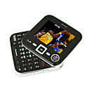 N7705 Dual Card Quad Band TV Function QWERTY Keypad Rotary Cell Phone Black (2GB TF Card)