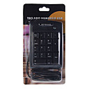USB 17-Key Numeric Keypad/Numpad for Laptop (Black)