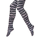 Zebra Pattern Tights Strong Stretched Winter Women's Hosiery (0903AK009-0736)