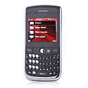 8.900 dual band qwerty carta tri tastiera coperchio metallico touch screen del telefono cellulare nero (2GB TF card) (sz04581079)