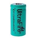 Rechargeable 3V CR123 800mAh Green 2 Packs