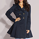 Military Trench Coat Women's Coats (0103AL001-0497)