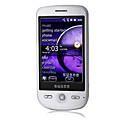 SunnO A880 Windows Mobile 6.5 gps wifi quad band java bluetooth plana da tela de toque do telefone celular inteligente branca (cartão de 2GB TF) (sz05