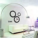 Horloge murale dcorative sticker (0752-P7-04 (c) + horloge)